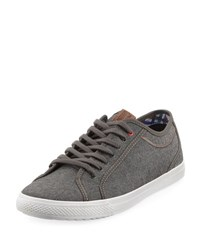 Ben Sherman Conall Low Top Canvas Sneaker Gray