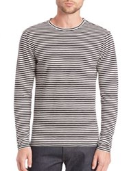 The Kooples Striped Long Sleeve T Shirt Multi