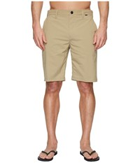 Hurley Dri Fit Chino Walkshorts 21 Khaki