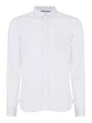 Linea Wilkes Mini Floral Shirt White