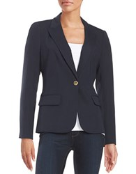 Ivanka Trump Single Button Blazer Navy