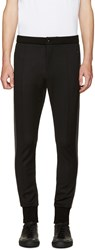 Dolce And Gabbana Black Cuffed Lounge Pants