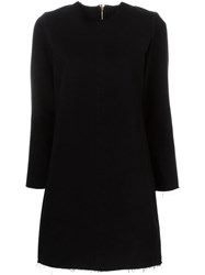 Aries Denim Shift Dress Black