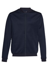 French Connection Men's Outpoint Fc Zip Through Sweatshirt Blue