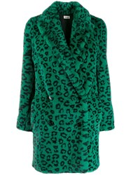 Zadig And Voltaire Motty Leopard Print Coat 60