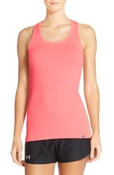 Women's Under Armour 'Victory' Heatgear Racerback Tank Harmony Red