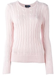 Polo Ralph Lauren 'Julianna' Jumper Pink Purple