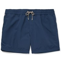 Brunello Cucinelli Slim Fit Mid Length Swim Shorts Storm Blue