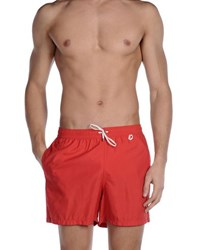 Loro Piana Swimwear Swimming Trunks Men Red