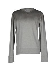 Officine Generale Topwear Sweatshirts Men Grey