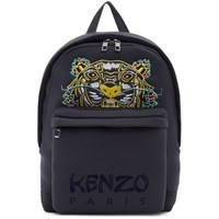 Kenzo Grey Limited Edition Dragon Tiger Backpack