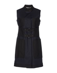 Rue Du Mail Full Length Jackets Dark Blue