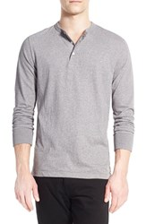 Men's French Connection Long Sleeve Melange Henley