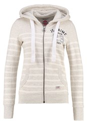 Superdry Tracksuit Top Ice Marl Light Grey