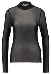 Pieces Pchesh Long Sleeved Top Black