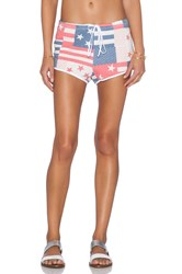 Wildfox Couture Pool Party Shorts Blue