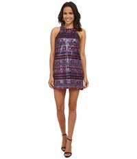 Amanda Uprichard Sequin Racer Dress Multi Women's Dress
