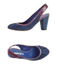 Apepazza Pumps Slate Blue