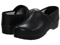 Sanita Professional Pu Black Men's Clog Shoes