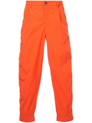 Kolor Technical Casual Chinos Yellow And Orange