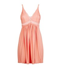 Eberjey Colette Lace Chemise Female Pink