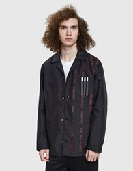 Adidas By Alexander Wang Aw Coach Jacket In Black