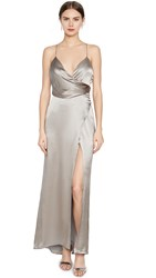 Fame And Partners The Ferne Dress Grey