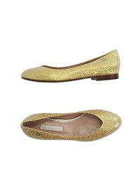 Dibrera By Paolo Zanoli Footwear Ballet Flats Women Yellow