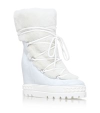 Casadei Craze Ski Boots Female White
