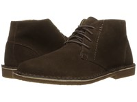 Nunn Bush Galloway Plain Toe Chukka Boot Dark Brown Men's Lace Up Casual Shoes