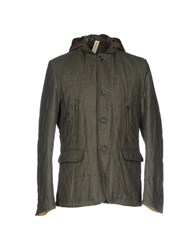 J.W. Tabacchi Jackets Military Green