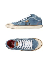 Pepe Jeans Footwear Low Tops And Trainers Women Blue