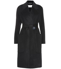 Acne Studios Carice Wool And Cashmere Coat Blue