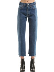 Vetements Reworked Push Up Cotton Denim Jeans