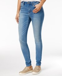Rampage Juniors' High Rise Nikki Super Skinny Jeans Gary Wash