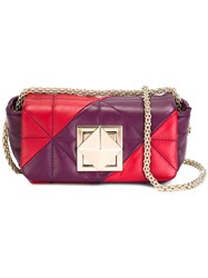 Sonia Rykiel Quilted Crossbody Bag Purple