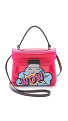 Furla Graffiti Candy Bon Bon Mini Cross Body Bag Hot Pink