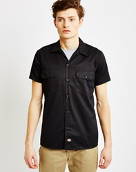 Dickies Short Sleeve Slim Shirt Black