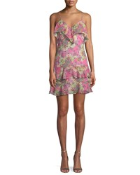 Bailey 44 Day Dream Printed Ruffle Dress Pink