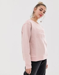 Monki Sweatshirt Pink