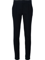 Yigal Azrouel Slim Fit Cigarette Trousers Black