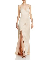 Jarlo Wrap Gown Gold