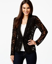 Inc International Concepts Floral Lace Blazer Only At Macy's