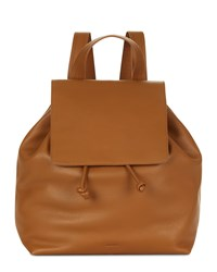 Jaeger Martha Leather Backpack Cream