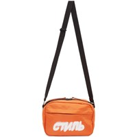 Heron Preston Orange Style Camera Bag