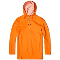 Stutterheim Stockholm Raincoat Orange