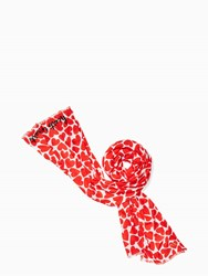 Kate Spade Heart To Heart Oblong Rooster Red