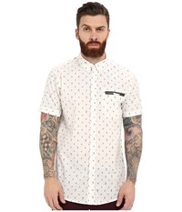 Rip Curl Mixed End Short Sleeve Shirt White Men's Clothing