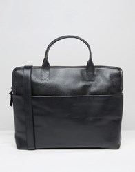 Royal Republiq Courier Single Leather Satchel In Black Black