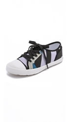 Hunter Original Dazzle Lo Top Sneakers Bright Watermelon Pale Citrine